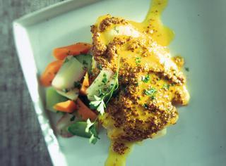 Filetti di pesce alla senape