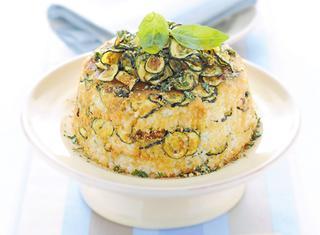 Sartù di riso vegetariano