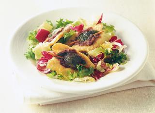 Ricetta Di pollo con patè di olive