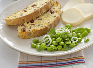 Plumcake salato con salame