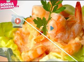 Video ricetta: Cocktail di gamberetti