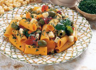 Ricetta Maccheroni gialli freddi