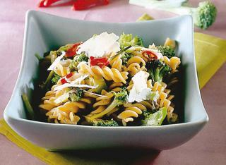 Fusilli integrali con broccoli