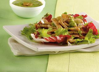 Straccetti affettati con salsa verde