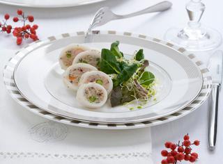 Ricetta Anelli di calamari ripieni ai gamberetti