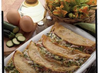 Ricetta Crepes ricotta e zucchine