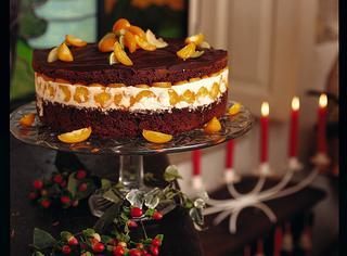 Ricetta Torta bicolore con i kumquat