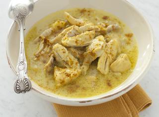 Zuppa di pollo al curry