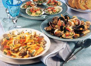 Ricetta Straccetti ai tartufi di mare