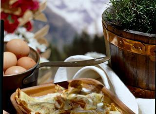 Ricetta Crespelle fontina e prosciutto