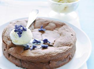 Ricetta Torta di cioccolato e castagne