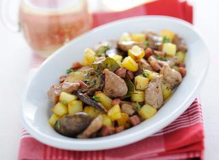 Ricetta Bocconcini di maiale con porcini
