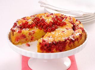 Ricetta Focaccia dolce con ribes rosso