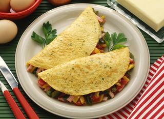 Omelettes alla francese