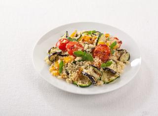 Ricetta Cuscus con verdure grigliate
