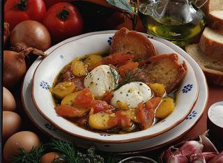 Brodetto di patate e uova