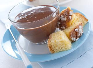 Crema al cioccolato e panna