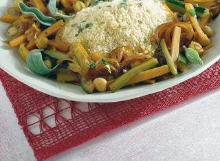 Ricetta Cuscus con verdure miste