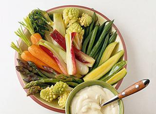 Ricetta Aioli con verdure di stagione