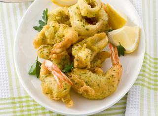 Ricetta Pesce in pastella aromatica