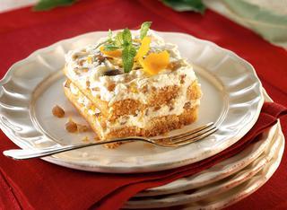 Ricetta Tiramisù con ricotta e marrons glacés