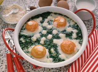 Torta i erbette con uova
