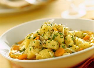 Gnocchi alla crema di carote