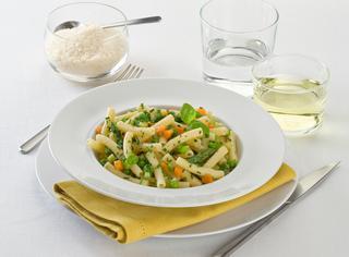 Ricetta Maccheroncini al ragù vegetariano
