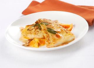 Ricetta Filetti di nasello all'arancia