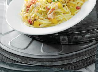 Spaghetti mare e terra