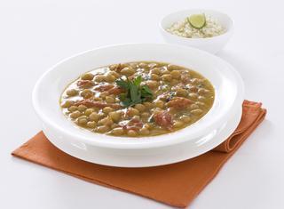 Zuppina di ceci al curry con riso basmati