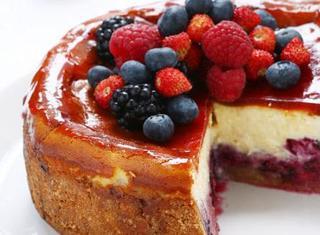 Ricetta Cheesecake ai frutti di bosco