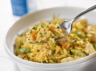 Ricetta Riso e pollo al curry