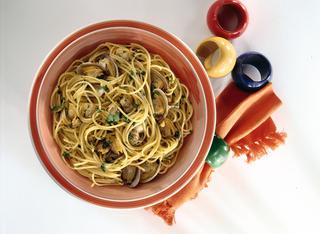 Ricetta Pasta alle vongole e curry