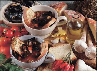 Zuppa di cozze alla messinese