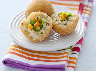 Ricetta Arancini di riso vegetariani