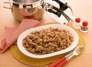 Ricetta Costine con crauti