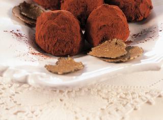Tartufi di cioccolato e panna