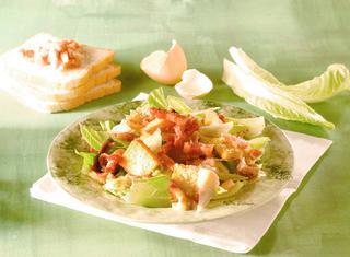 Ricetta Caesar salad al pollo
