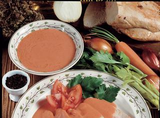 Fesa di tacchino con gustosa salsa Aurora