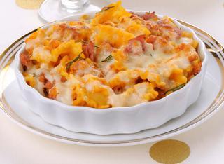 Ricetta Pasta e lenticchie in pirofila