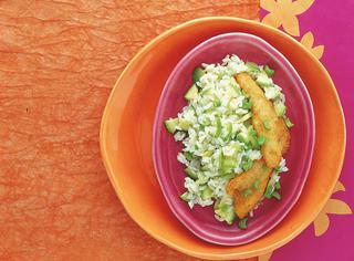 Riso con zucchine e parmigiano