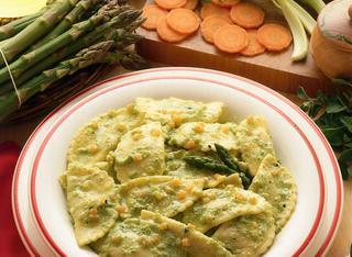 Ravioli agli asparagi