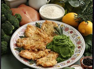 Pollo marinato e fritto