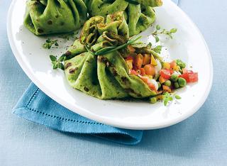 Ricetta Fagottini verdi vegetariani