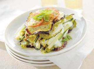 Parmigiana light di verdure grigliate