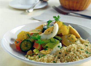 Cous cous speziato con verdure
