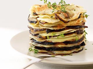Ricetta Funghi e patate