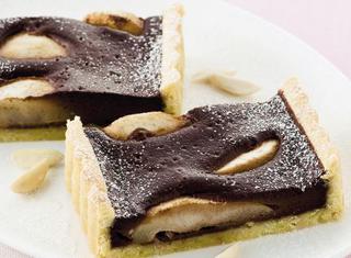 Ricetta Crostata di pere e cioccolato