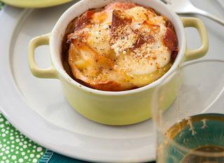 Ricetta Teglia di parmigiana di patate allo speck